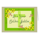 Catholic Nun Golden Jubilee Cards