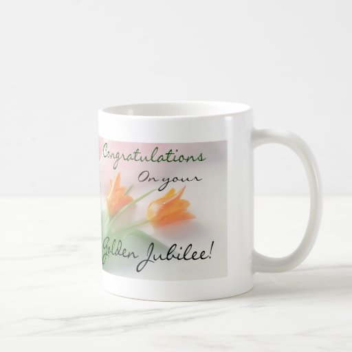"Catholic Nun ""Golden Jubilee"" Cards & Gifts Coffee Mug"
