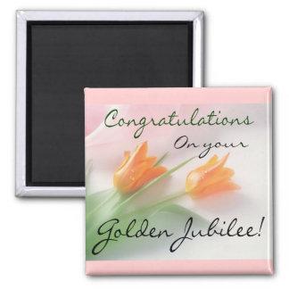 "Catholic Nun ""Golden Jubilee"" Cards & Gifts Magnet"
