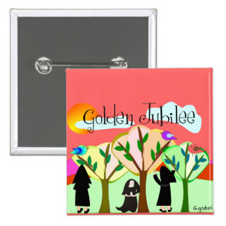 Catholic Nun Golden Jubilee Gifts Pins