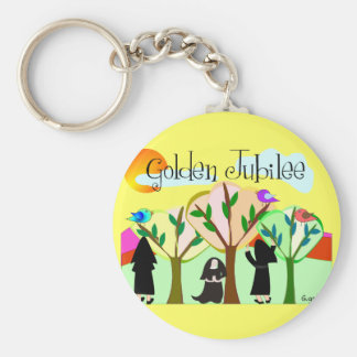 Catholic Nun Golden Jubilee Gifts Key Chains