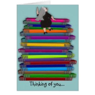 """Catholic Nun Note Cards """"Thinking of You"""""""