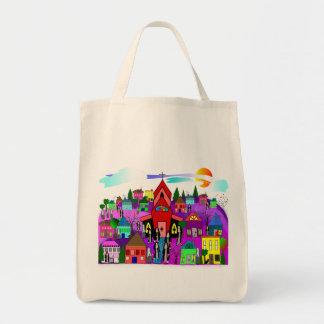 "Catholic Nuns Art ""Heading to Church"" Tote Bag"