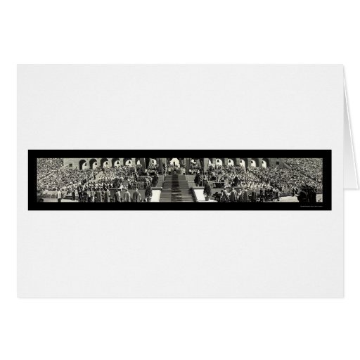 Catholic Pontifical Mass Photo 1931 Card