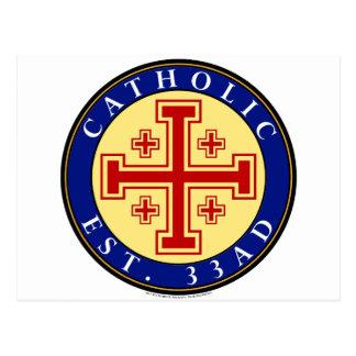 CATHOLIC POST CARDS