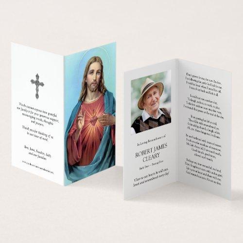 Catholic Prayer Cards  Most Loving Heart