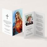 Catholic Prayer Cards | Sacred Heart Mary