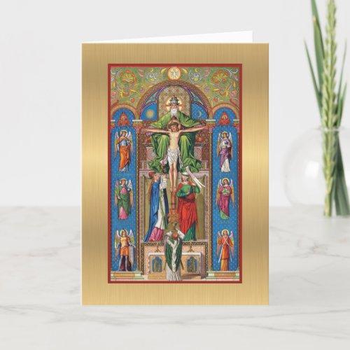 Catholic Priest Anniversary Ordination Mass Card
