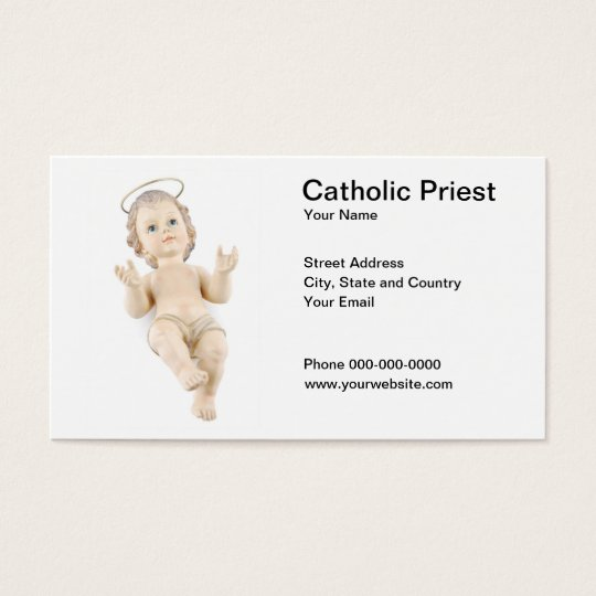 Catholic Priest Business Card
