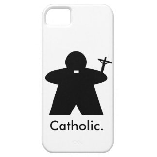 Catholic Priest Meeple iphone case
