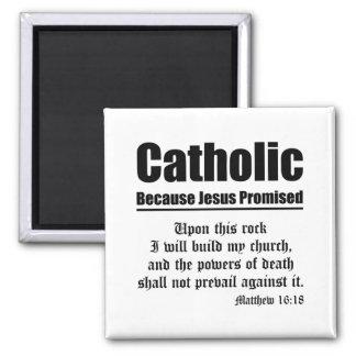Catholic Promise Fridge Magnets