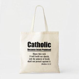 Catholic Promise Tote Bag