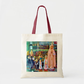 CATHOLIC RELIGIOUS ICONS IN LISBON SHOP TOTE BAG
