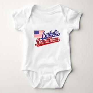 Catholic Republican Baby Bodysuit