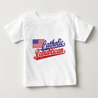 Catholic Republican Baby T-Shirt