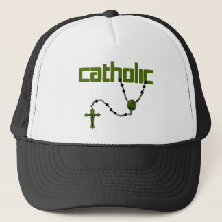 Catholic Rosary Trucker Hat