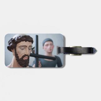 Catholic saints bag tags