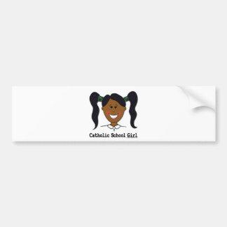Catholic School Girl~ Ashleigh Bumper Sticker