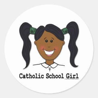 Catholic School Girl Ashleigh Stickers