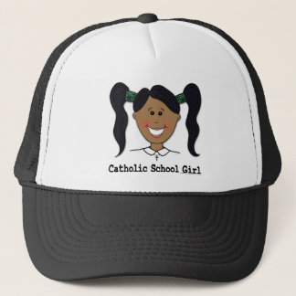 Catholic School Girl ~ Cristina Trucker Hat