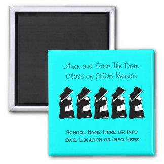 Catholic School Reunion Nun Save The Date Custom Magnet