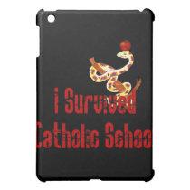 Catholic School Survivor iPad Mini Cover