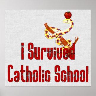 Catholic School Survivor Poster