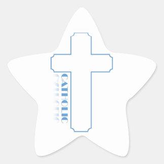 Catholic Star Sticker