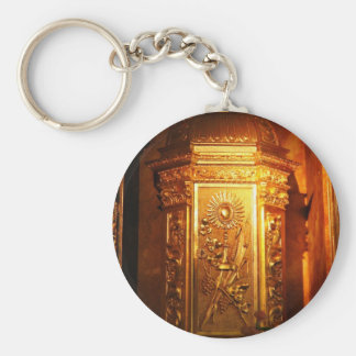Catholic tabernacle keychain
