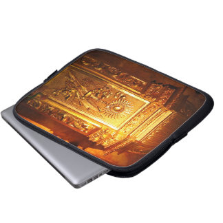 Catholic tabernacle laptop sleeve
