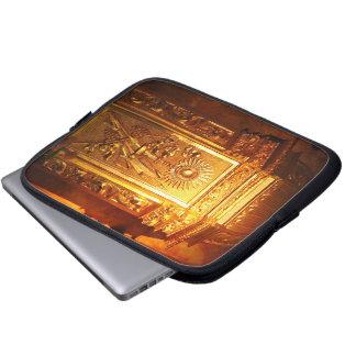Catholic tabernacle laptop computer sleeves