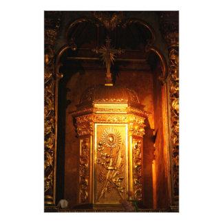 Catholic tabernacle photo print