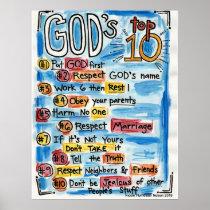 Catholic Top Ten Poster