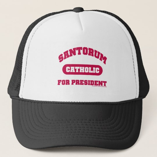 Catholic's For Santorum Trucker Hat