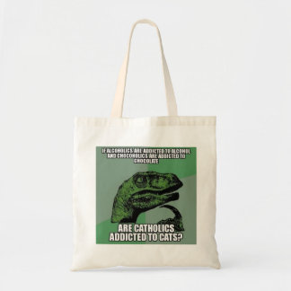 catholics tote bag