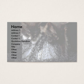 Cathouse Blues Business Card