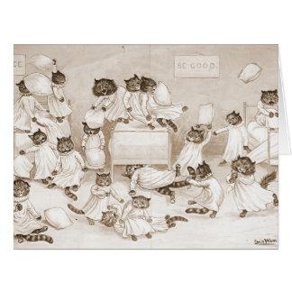 Cathouse Dormitory 1906 Cards