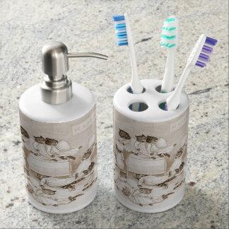 Cathouse Dormitory 1906 Soap Dispensers