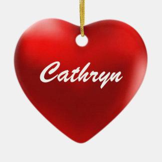Cathryn Ornament Heart