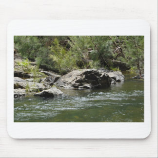 CATHU STATE FOREST WATER ROCKS RURAL AUQEENSLAND MOUSE PAD