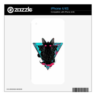 Cathulhu Decal For iPhone 4S
