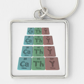Cathy as Calcium Thorium Yttrium Keychain