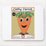 Cathy Carrot Seed Packet 1 Mousepads