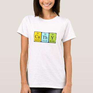 Cathy periodic table name shirt