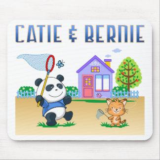 Catie y Bernie Tapete De Raton
