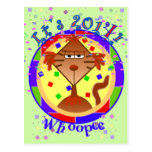 Catitude Cat New Years Postcards