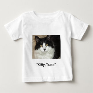 Catitude Cat with an Attitude Baby T-Shirt