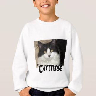 Catitude Cat with an Attitude Sweatshirt