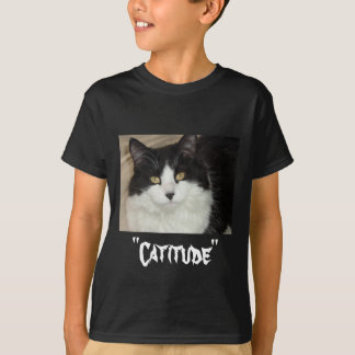 Catitude Cat with an Attitude T-Shirt