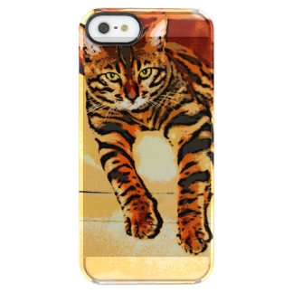 CATITUDE FUNDA CLEAR PARA iPhone SE/5/5s